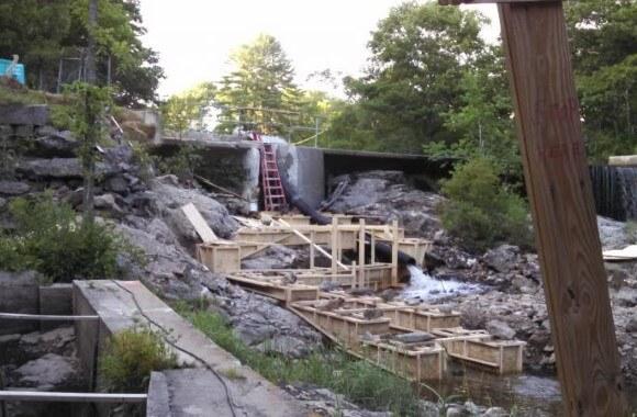Nequasset Lake Dam